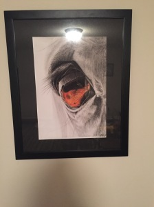 Matt had this drawing done of Pilgrim